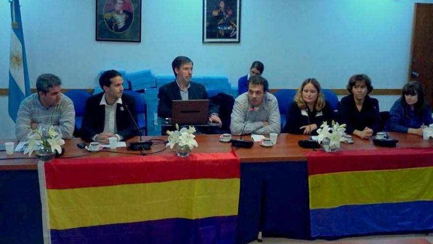 Jorge Rivas presenta su proyecto