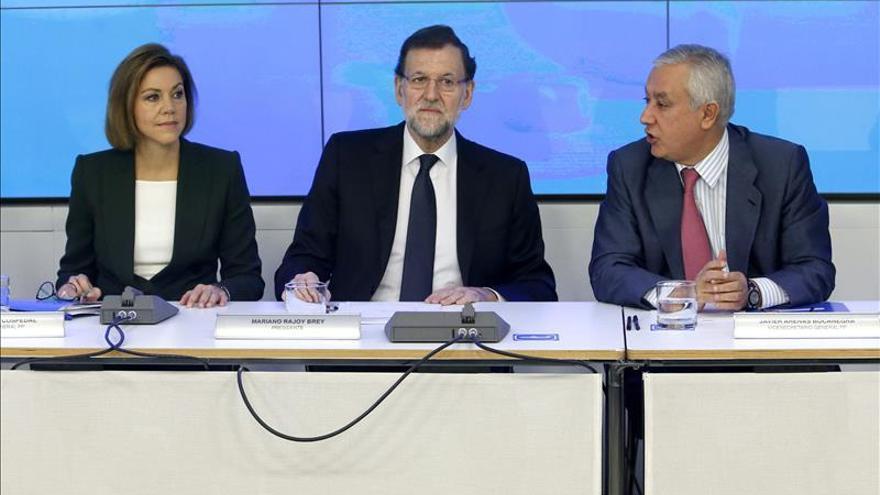 """Rajoy tiene buenos datos de expectativas del PP y de que """"se desinfla"""" Podemos"""