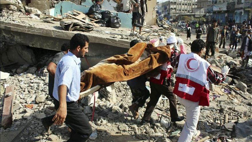 Los bombardeos en Yemen han desplazado a 120.000 personas, según la ONU