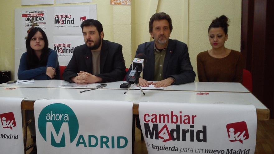 Valiente consuma su ruptura con la dirección de IUCM y convoca su propio referéndum sobre Ahora Madrid