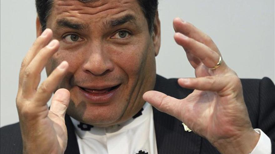 Rafael Correa ha apostado por el sector de su Gobierno favorable al acuerdo con la UE.