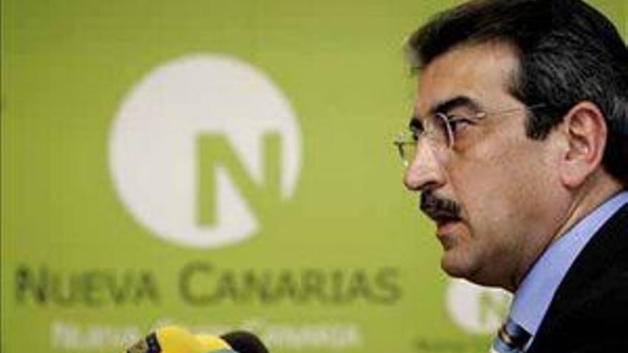 Román Rodríguez, presidente de Nueva Canarias.