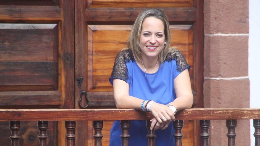 Susana Machín, consejera delegada de Educación, Sanidad y Artesanía del Cabildo de La Palma.