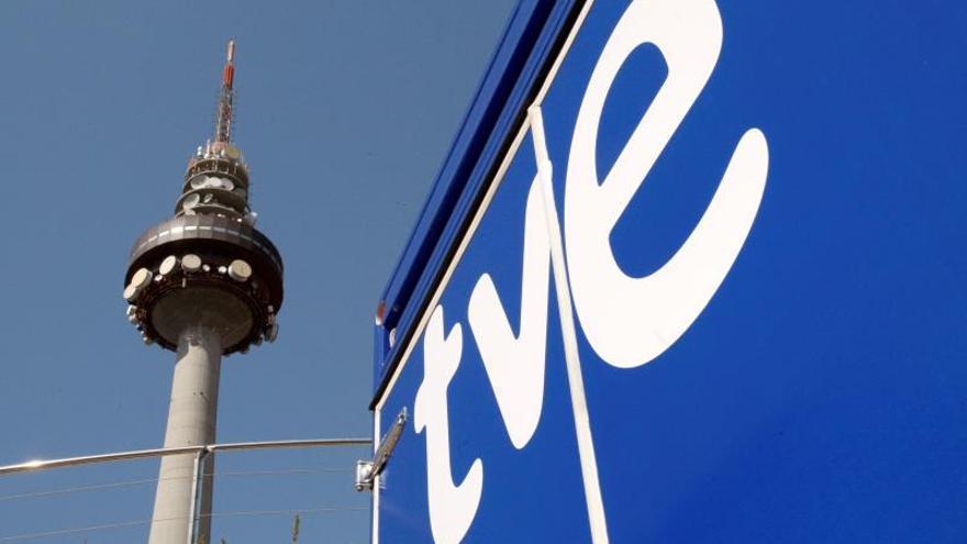 Vista de Torrespañ, centro de comunicaciones de RTVE.