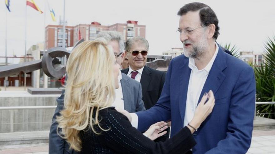 Del acto del PP canario con Rajoy #8