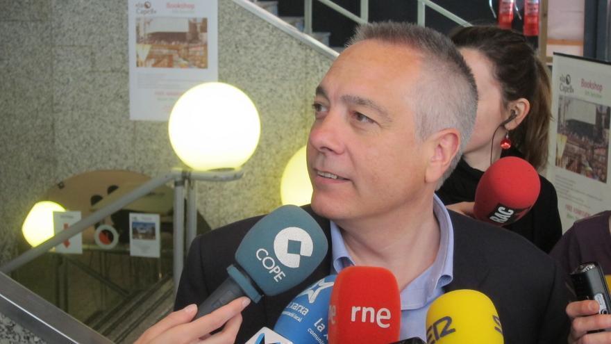"""Navarro (PSC) asegura que """"cada vez hay más federalistas"""""""