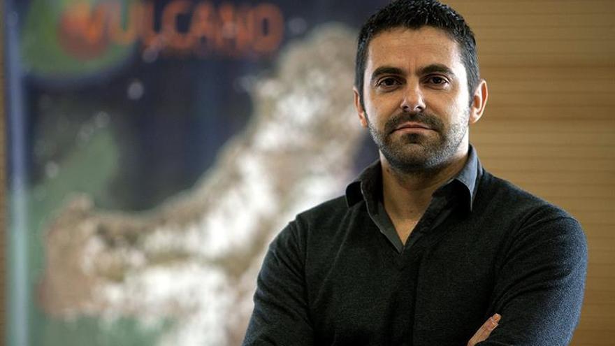 El oceanógrafo físico Eugenio Fraile. EFE/Ramón de la Rocha