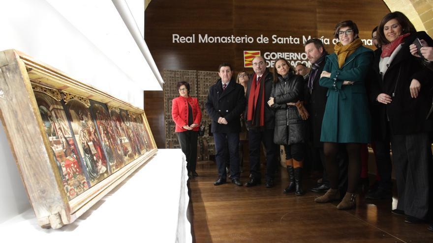 Visita institucional al Monasterio de Sijena