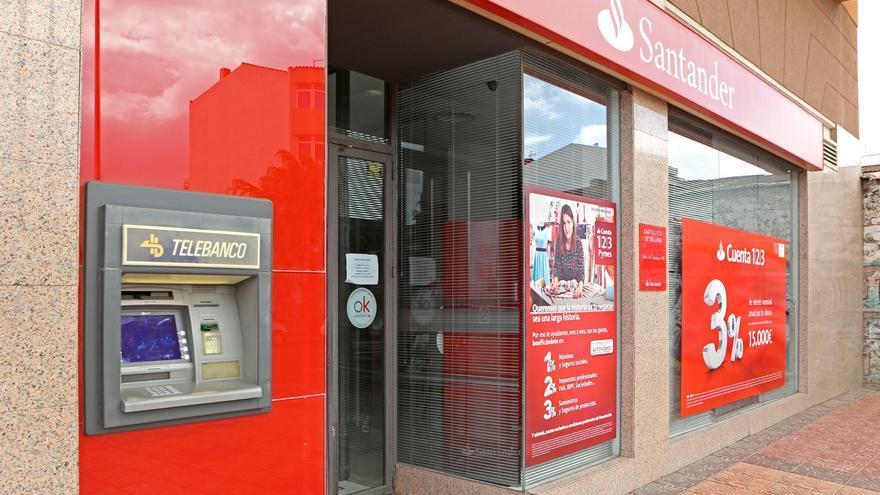 Oficina del Banco Santander en la localidad de Vecindario