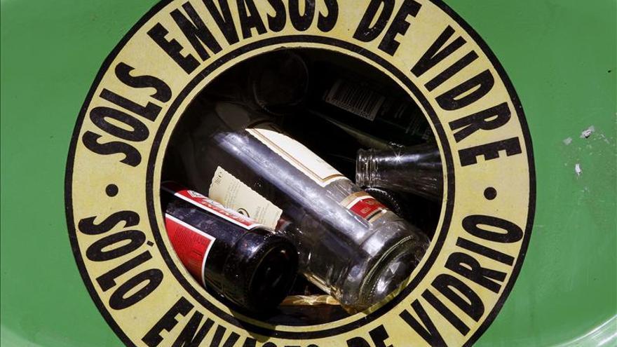 Cada español recicló más de 14 kilos de vidrio de media en 2013