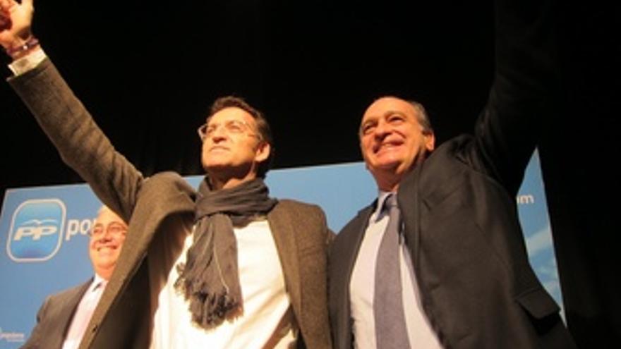 Alberto Núñez Feijóo Y Jorge Fernández (PP)