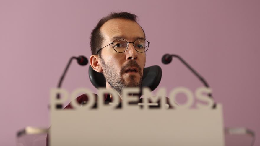 """Echenique asegura que, pese a los """"rumores"""", no hay """"movimientos"""" en torno a las listas para la Asamblea de Podemos"""