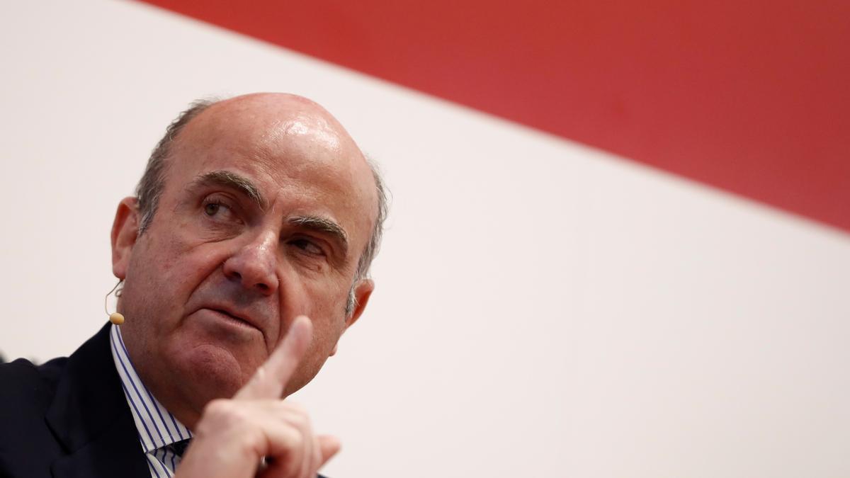El vicepresidente del Banco Central Europeo, Luis de Guindos. EFE/Mariscal/Archivo