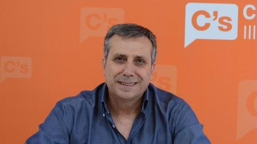 El coordinador de Ciudadanos en Castilla-La Mancha, Antonio López / EUROPA PRESS