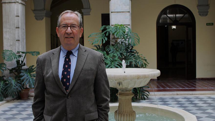 Rafael Sánchez Mantero, catedrático de Historia Contemporánea. / Juan Miguel Baquero