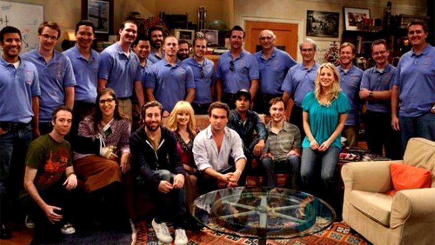 El equipo del 'Curiosity' de la NASA visitó a los chicos de 'The Big Bang Theory'