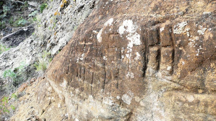 Todas las figuras fueron ejecutadas mediante una técnica de raspado con algún objeto duro (madera, piedra o hueso) hasta conseguir la forma deseada.