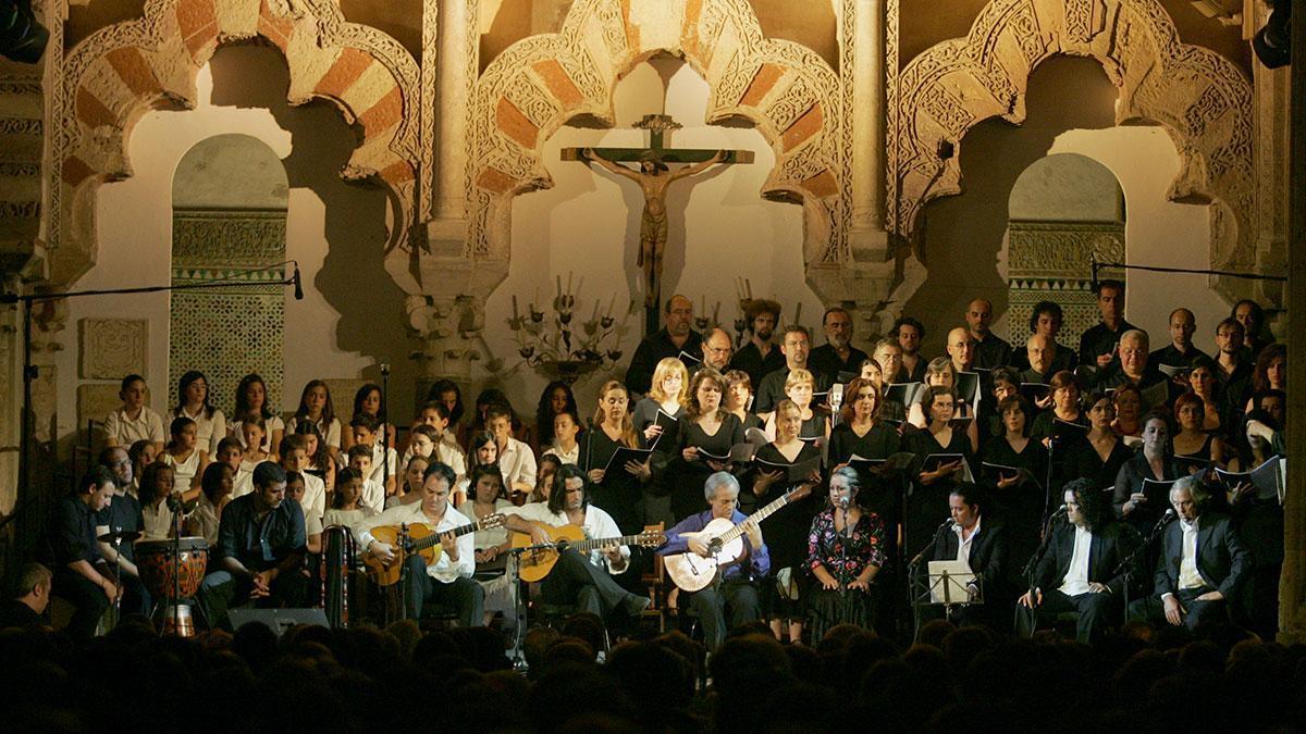 Concierto de Paco Peña en la Mezquita Catedral