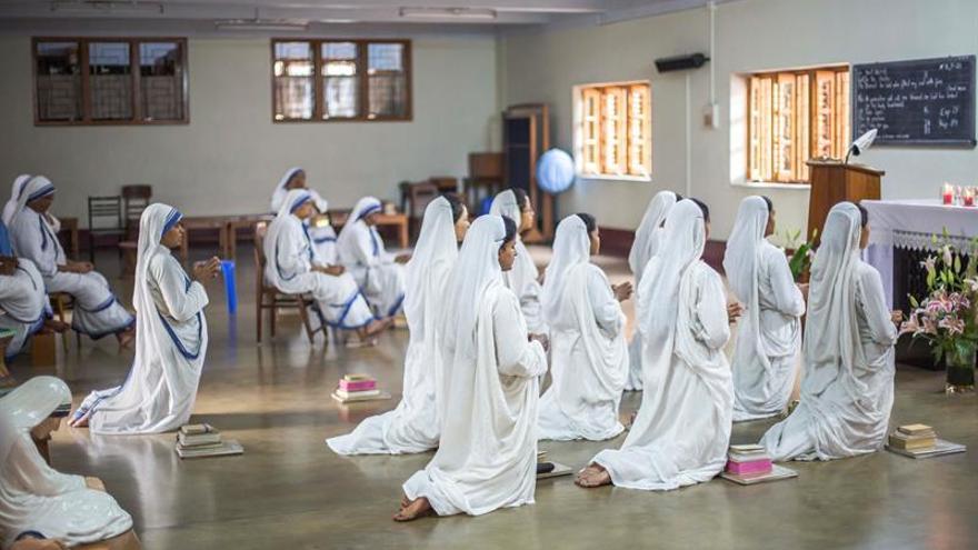 Misioneras recuerdan a la madre Teresa en aniversario de su canonización