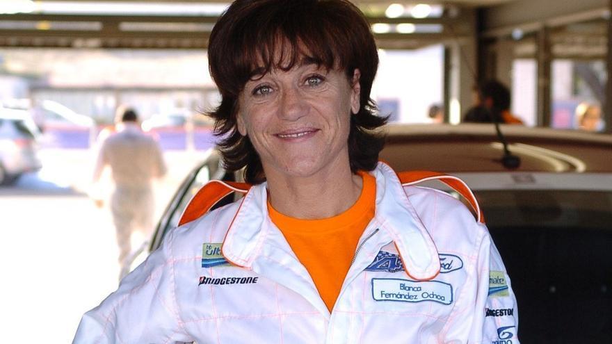 Blanca Fernández Ochoa en una imagen de archivo