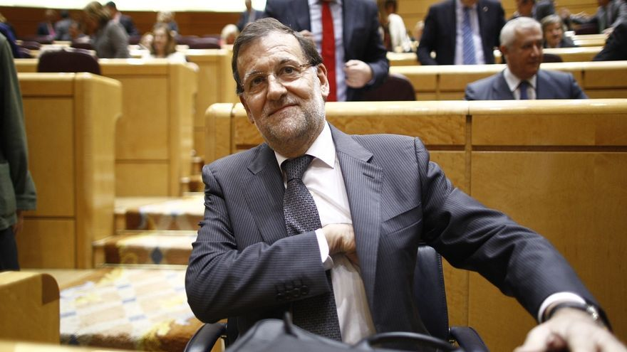 Rajoy vuelve el martes al Senado en el primer Pleno del año, para responder a PSOE, Entesa y Amaiur