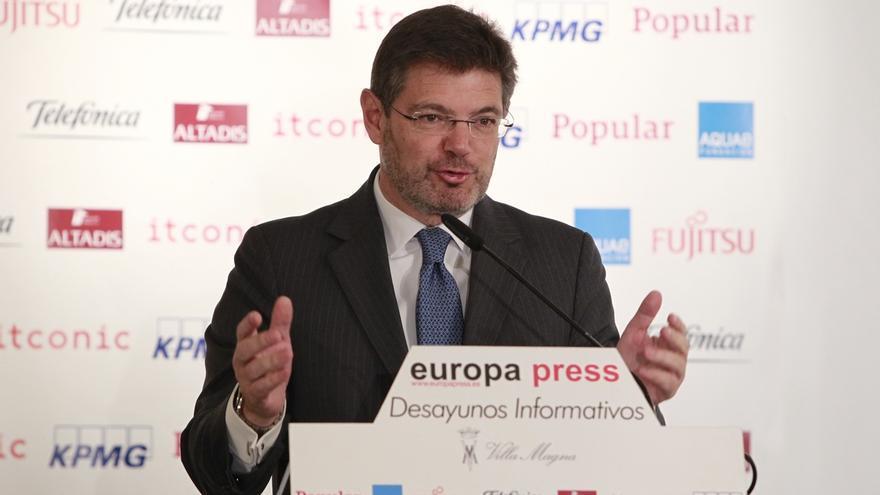 """Catalá ve """"muy grave"""" que un partido insinúe que el Ejecutivo ha ordenado la 'operación Termyca'"""
