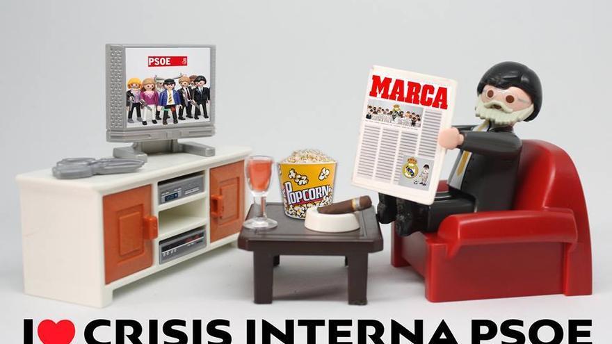 I love crisis interna del PSOE