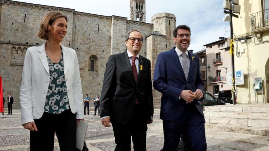 La Guardia Civil entra en el Ayuntamiento de La Seu d'Urgell