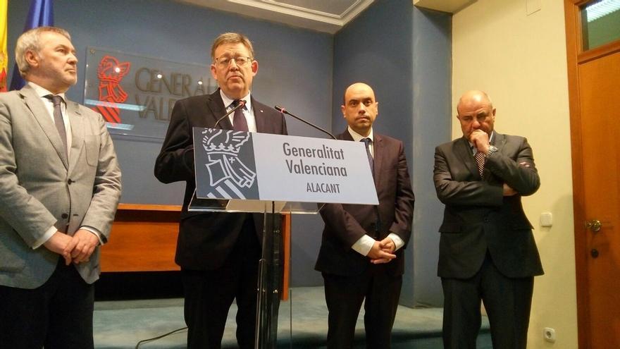 """Puig dice que la candidatura conjunta al Senado es una propuesta """"razonada y no una rebelión"""" ante el PSOE"""
