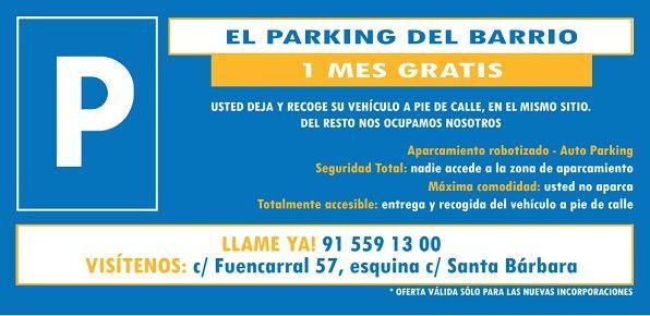 parking 1 mes gratis
