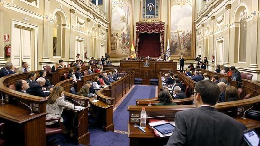 Parlamento de Canarias. EFE.