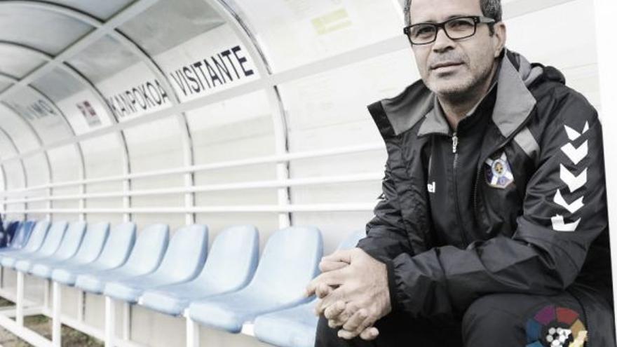Álvaro Cervera, entrenador del CD Tenerife.