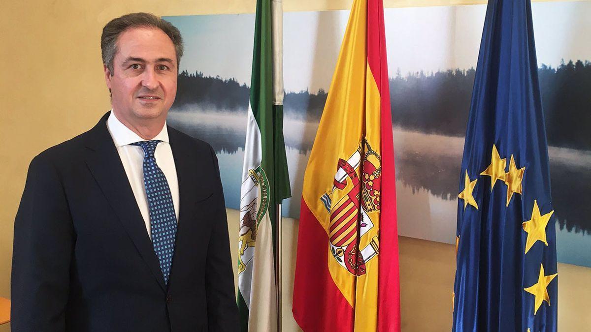 El delegado territorial de Regeneración, Justicia y Administración Local en Córdoba, Ángel Pimentel.