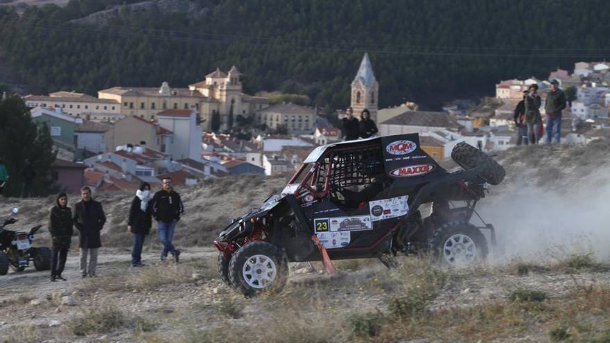 Pedro Delgado, campeón de España de rallyes todo terreno