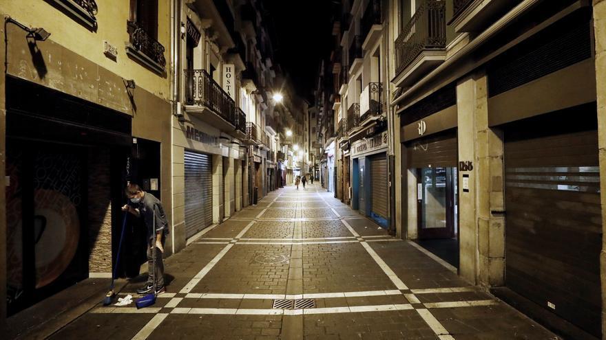 Navarra, la primera comunidad confinada para frenar el avance del covid