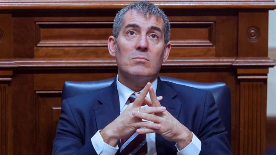 El presidente del Gobierno de Canarias, Fernando Clavijo EFE/Ramón de la Rocha