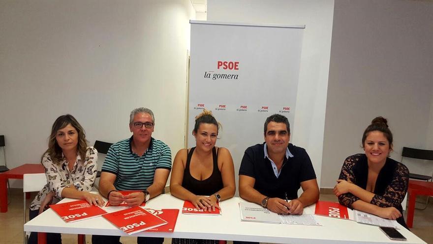 Ejecutiva del PSOE de Valle Gran Rey