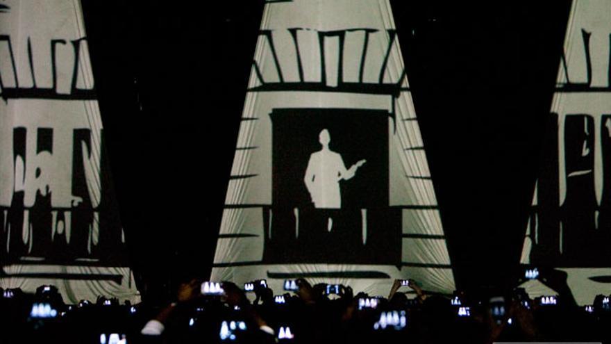 Escenario del concierto de Alejandro Sanz, que se celebró en el verano pasado | MADERO CUBERO