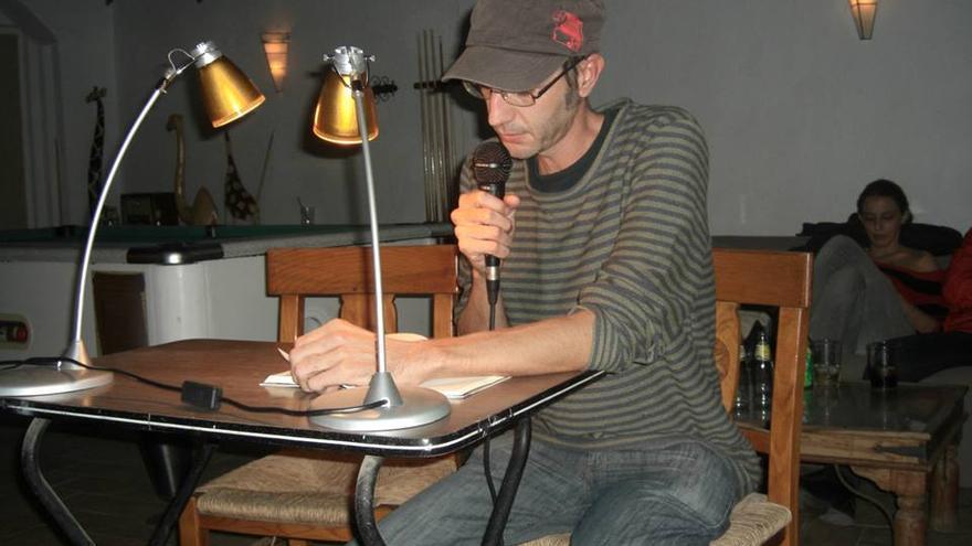 El escritor cartagenero Diego Sánchez Aguilar