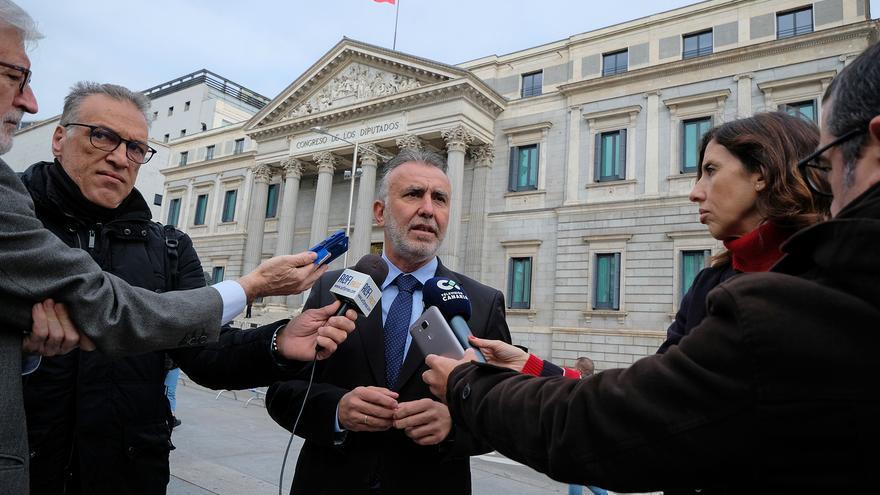 Ángel Víctor Torres en el Congreso de los Diputados el Día de la Constitución.