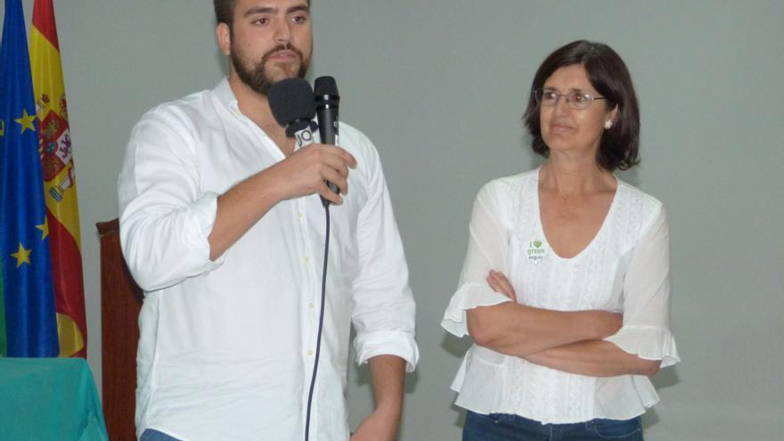 Francisco Sánchez y Carmen Molina, coportavoces de Equo en Andalucía