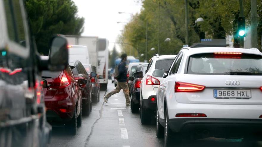 Madrid es la 6ª ciudad española más congestionada de tráfico,según un informe