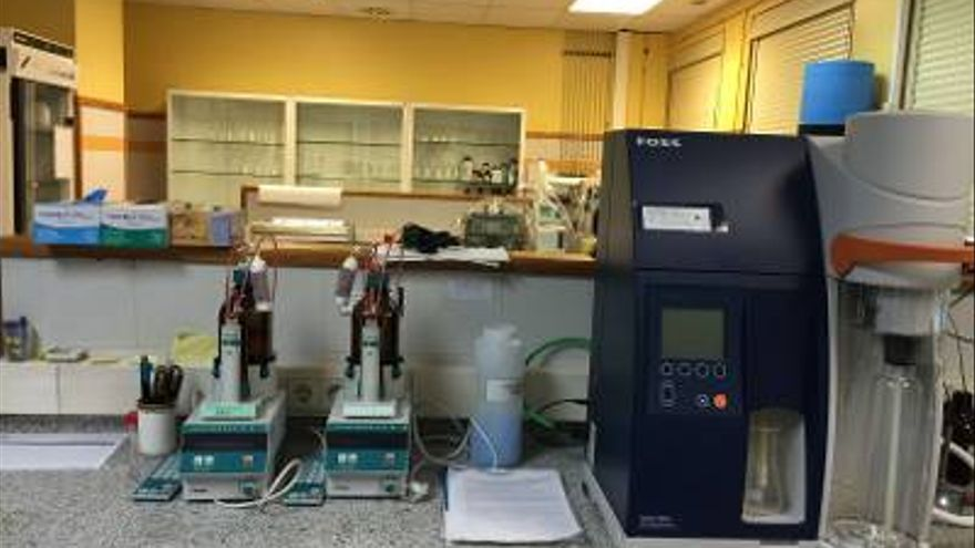Imagen de archivo de un laboratorio de Salud Pública.
