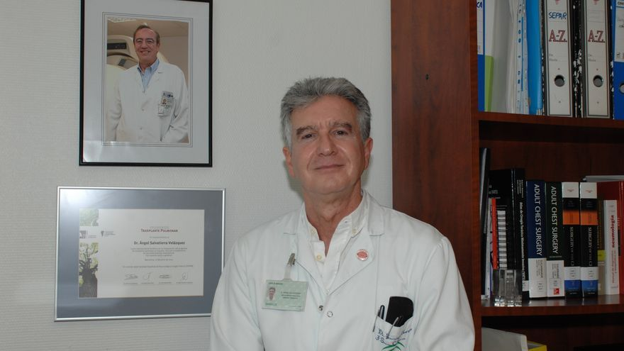 El doctor Ángel Salvatierra, nombrado Hijo Predilecto de Andalucía en 2016. (Foto. Hospital Reina Sofía de Córdoba)
