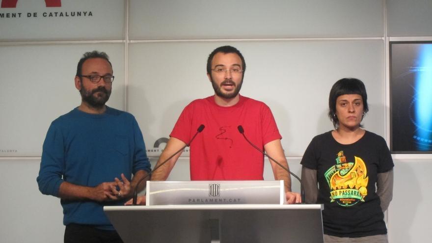 """Salellas (CUP) avisa de que el dilema """"Mas o marzo"""" puede romper internamente el partido"""