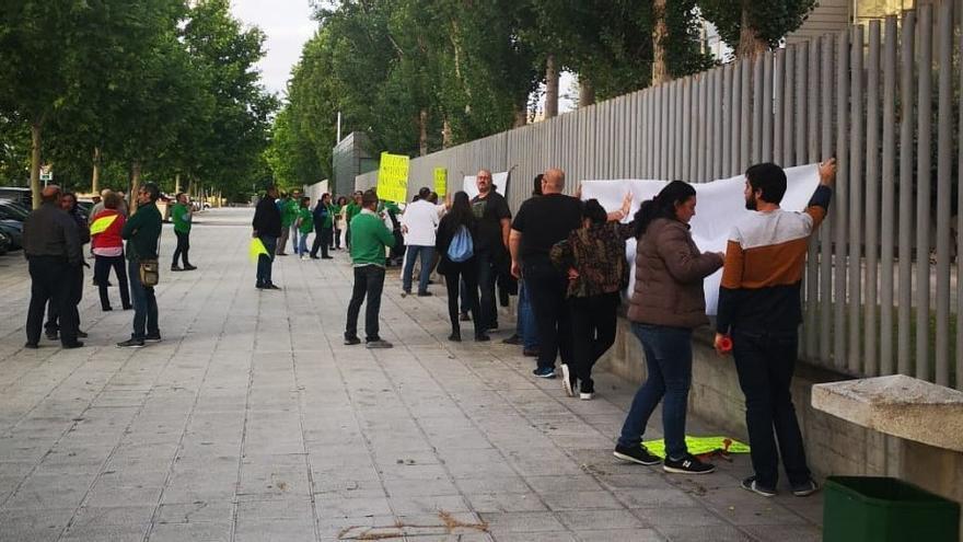 """Una protesta para """"no dejar de ninguna manera"""" que la agricultura ecológica """"caiga en el olvido"""""""