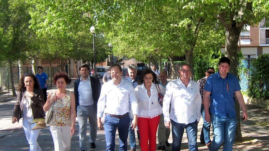 """Luena insiste en que """"solo concentrar los votos en el PSOE dará un Gobierno estable y de cambio"""""""