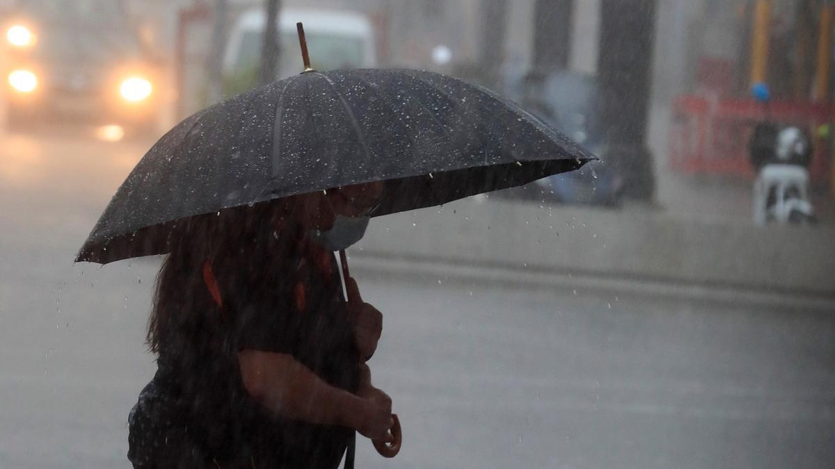 Este miércoles se activará la alerta amarilla por tormentas y lluvias en gran parte de Extremadura