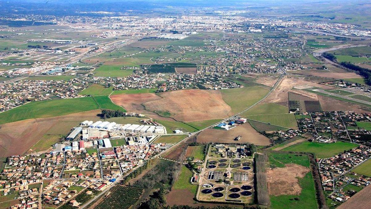 Estación depuradora de La Golondrina en Córdoba.