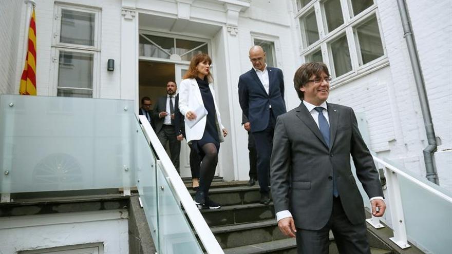 Puigdemont: no es realista creer que el recurso del Gobierno parará el referendo